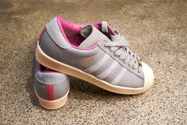 Adidas Superstar Consortium Grey Pink 1