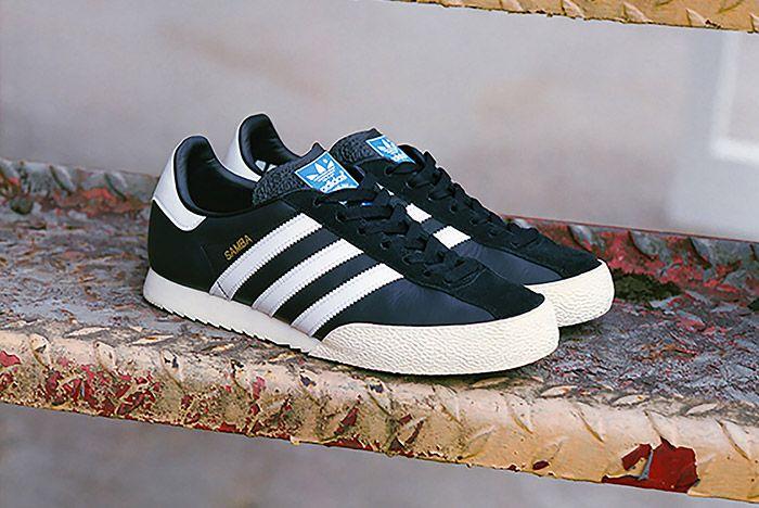 Adidas Spezial Samba Black White 6