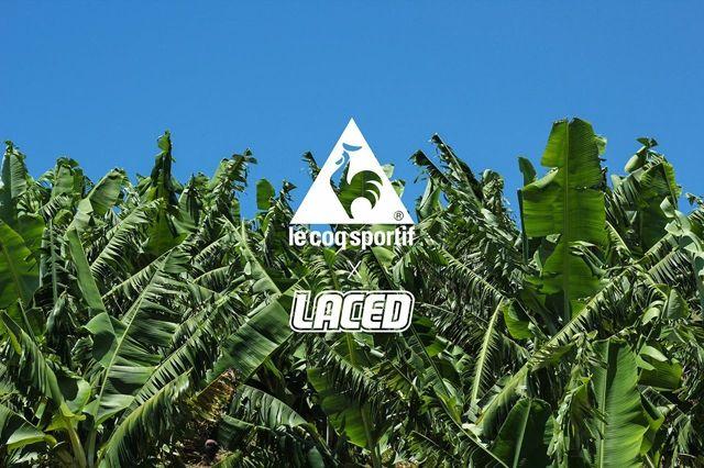Laced Le Coq Sportif Banana Bender 5