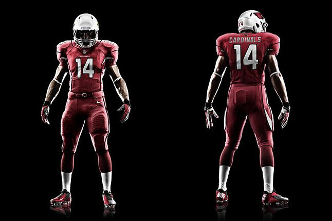 Arizona Cardinals Uniforms 1