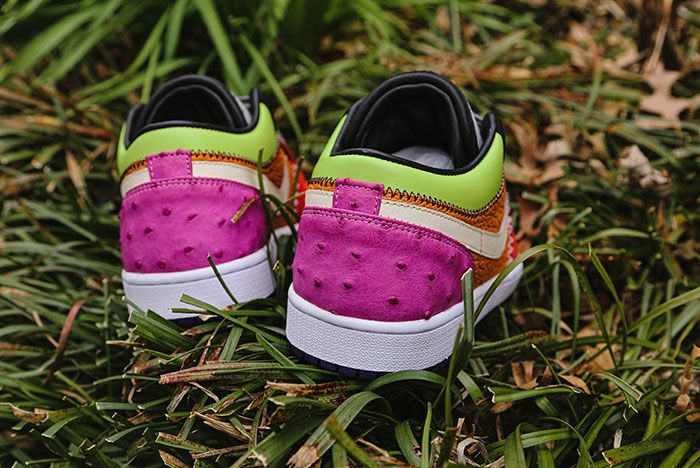 Ceeze Air Jordan 1 Viotech Custom Heel