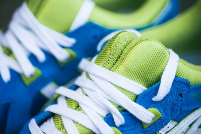 Asics Gt Cool Mid Blue Lime 2