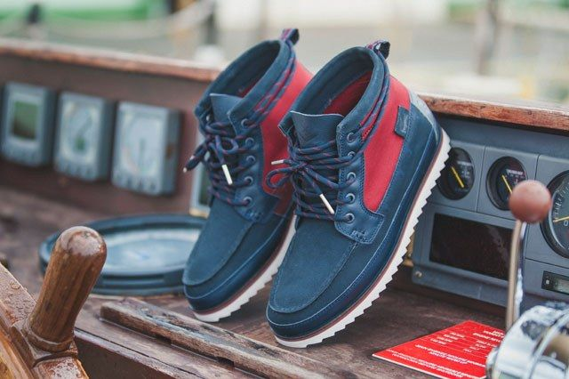 Lacoste X Hal Salute Navy 1