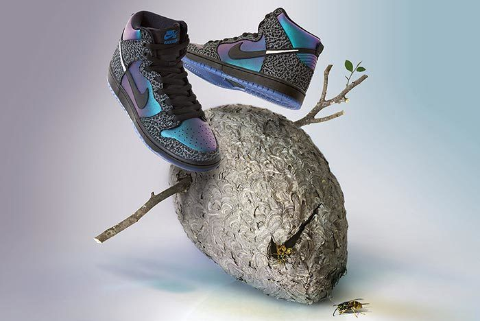 Black Sheep Nike Sb Dunk Black Hornet Side Shot