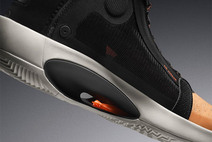 Air Jordan 34 Amber Rise Midsole