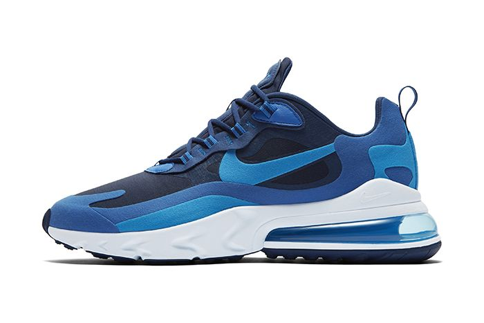Nike Air Max 270 React Blue Release Date Lateral