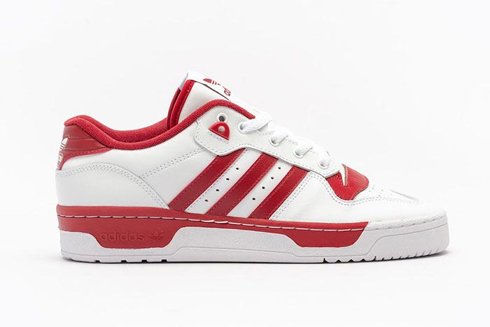 Adidas Rivalry Low White Red Ee4967 Lateral