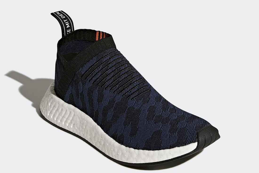 Adidas Nmd Cs2 Core Black Noble Indigo White Sneaker Freaker 3