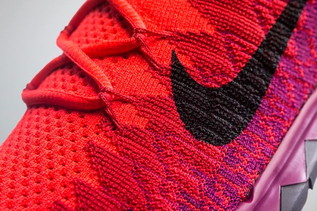 Nike Free Flyknit 3 Pnk Closeup