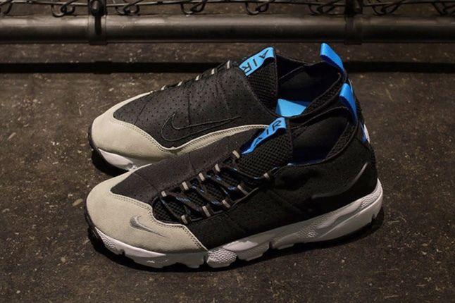 Nike Air Footscape Motion Grey Black Aerial Pair 1