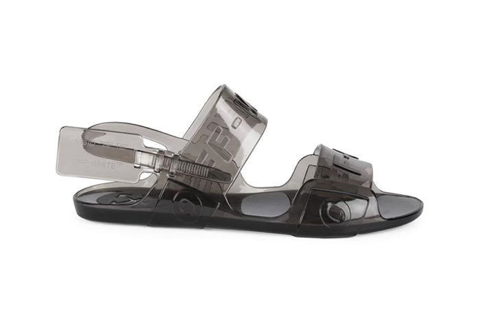 Offwhite Jelly Sandal 4