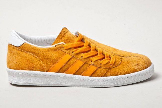 Adidas Campus Football Orange Side 1