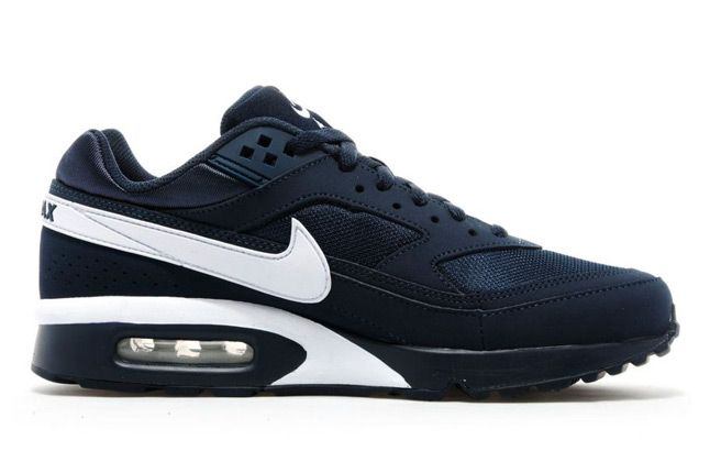Nike Bw Air Max Navy Side Profile 1
