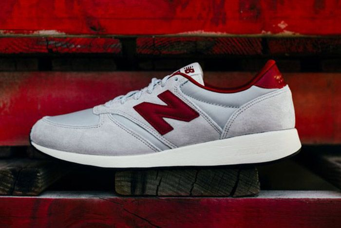 New Balance 420 Revlite Grey Red 5