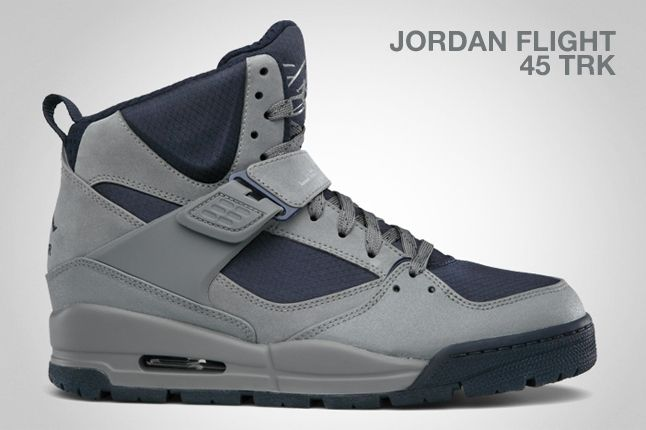 Jordan Flight 45 Trk Cool Grey 1