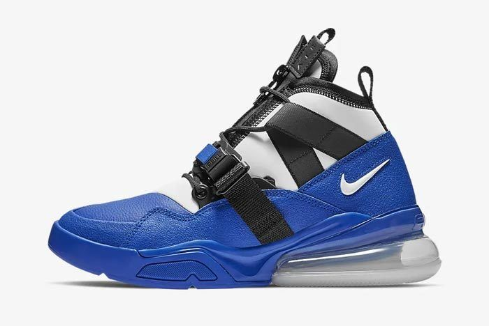 Nike Air Force 270 Utility Racer Blue Lateral