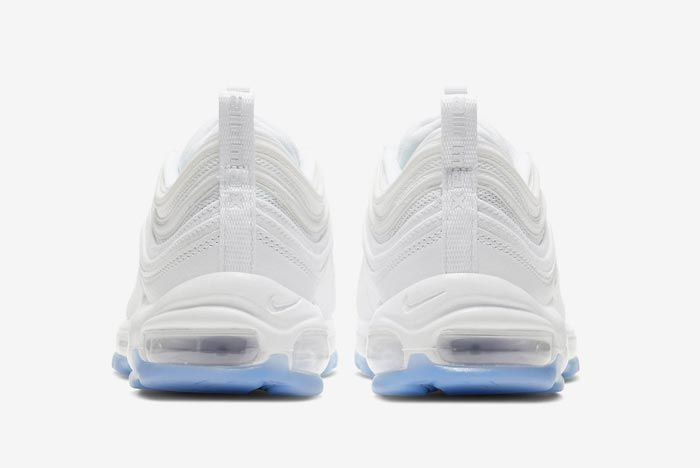 Nike Air Max 97 White Ice Heels