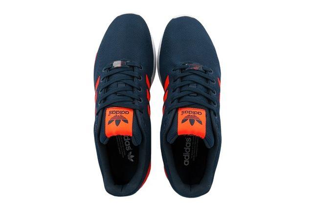 Adidas Originals Zx Flux Dark Blue Solar Red 1