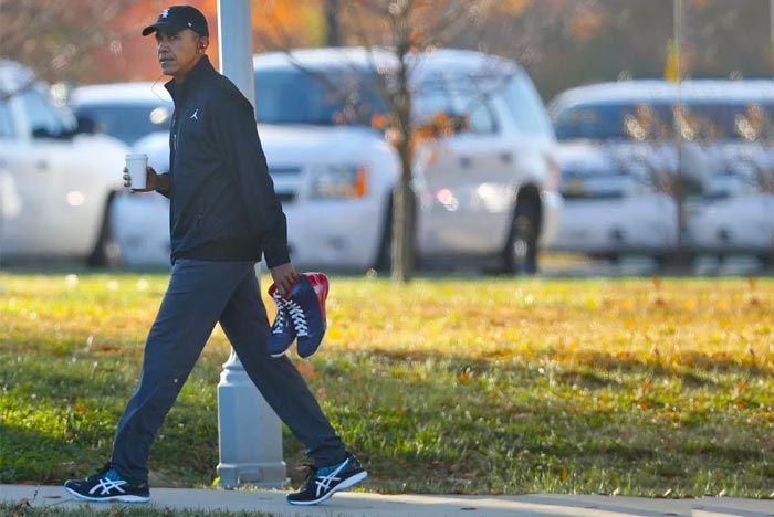 The Sneaker Evolution Of Barack Obama 8