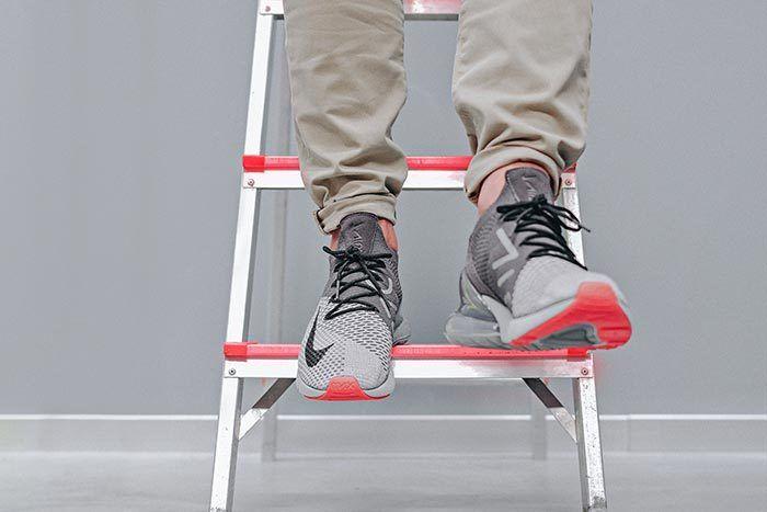 Nike Air Max 270 Flyknit Atmosphere Grey 1