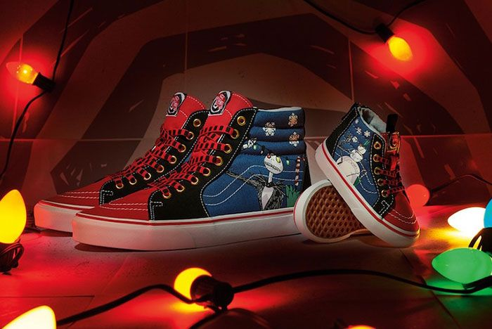 The Nightmare Before Christmas Vans Sk8 Hi Christmas Town Release Date