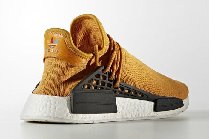 Pharrell Williams Adidas Hu Nmd Tangerine 3