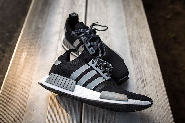 Adidas Nmd Runner Pk Black Grey