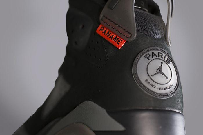 Psg Air Jordan 6 Official Release Date Hero Heel