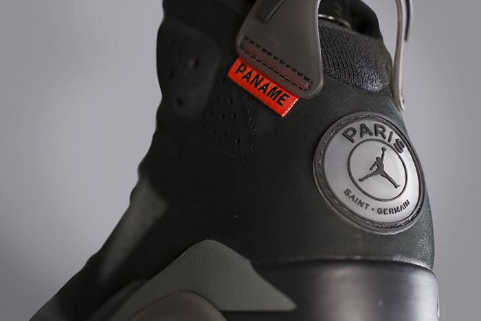 Psg Air Jordan 6 Official Release Date Hero Heel
