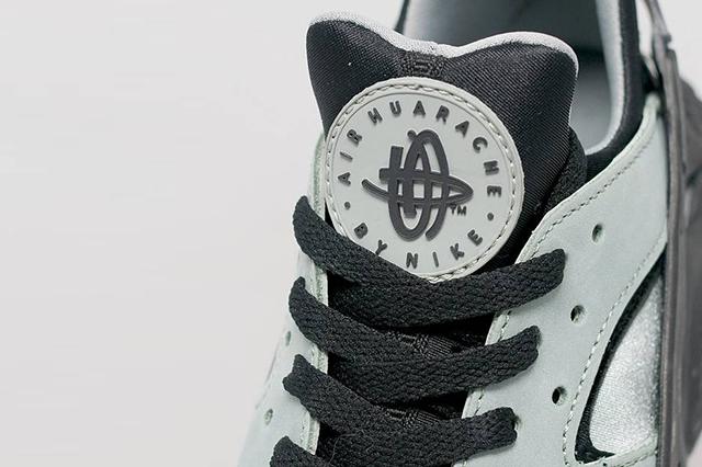 Nike Air Huarache Slate Green Black 3