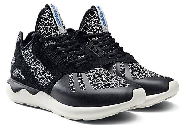 Adidas Originals Tubular Geomatric Pattern Pack Black