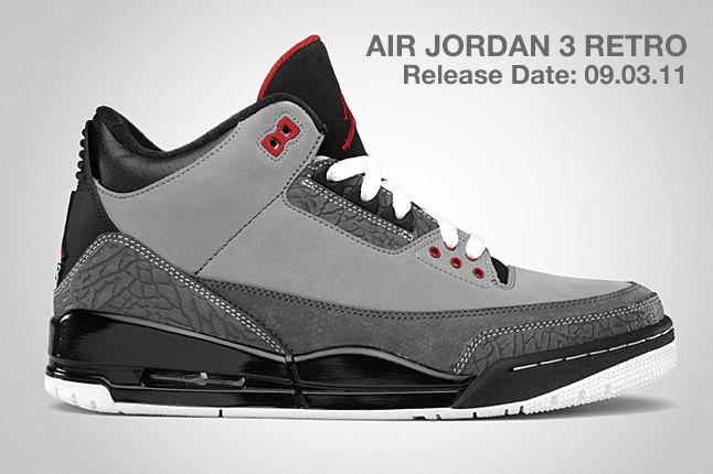 Air Jordan 3 Retro Stealth 1