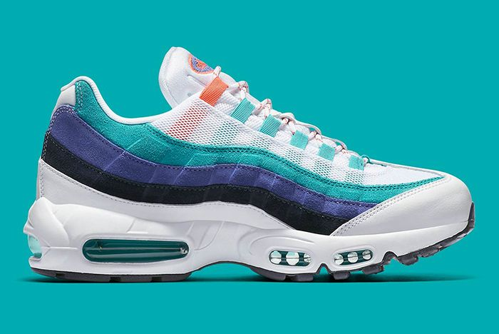 Nike Air Max 95 White Flash Crimson Hyper Jade 2