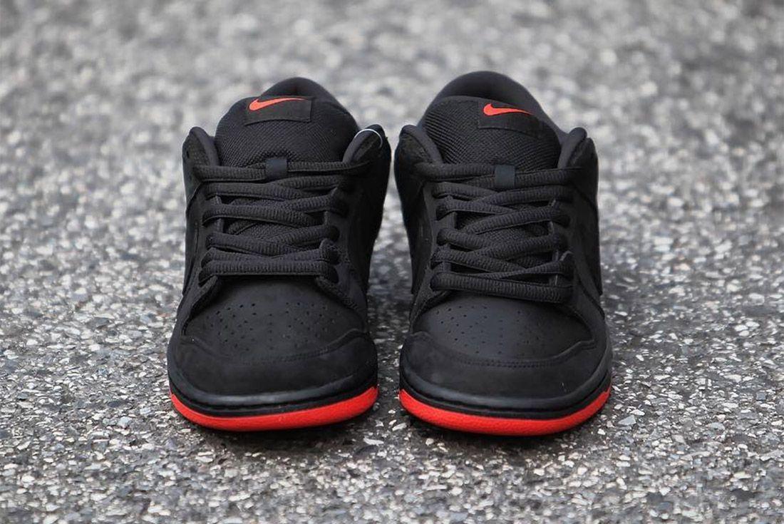 Nike Dunk Low Sb Black Pigeon4