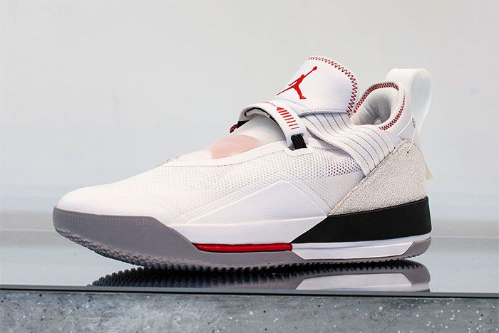 Air Jordan 33 Low First Look Front Angle Shot 2