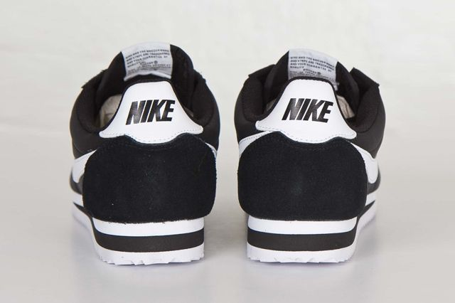 Nike Cortez Nylon Black White Sns Bump 1