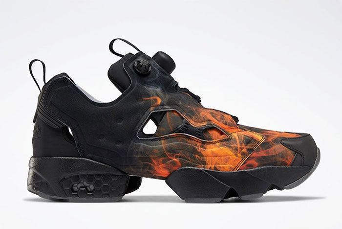 Reebok Instapump Fury Flames Right