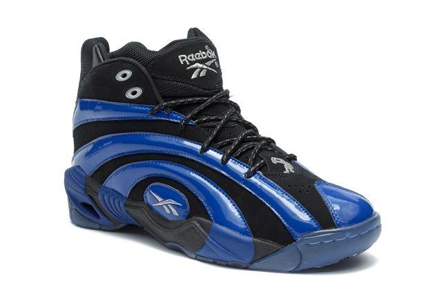 Reebok Classic Shaqnosis Blue Toe Quarter