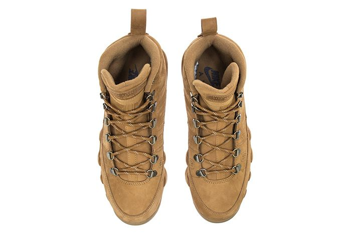 Air Jordan 9 Boot Wheat Black 2