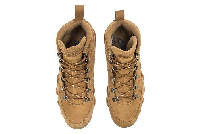 Air Jordan 9 Boot Wheat Black 2