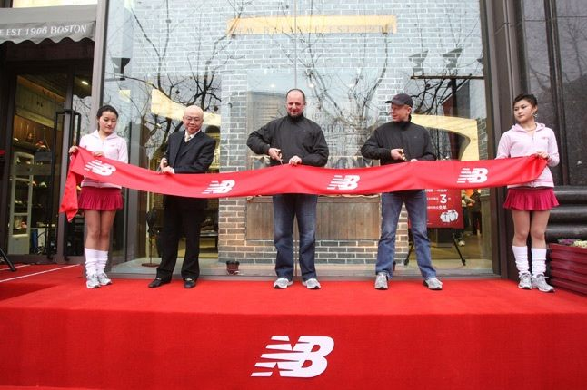 Wmnew Balance Shanghai Ribbon Cutting 1