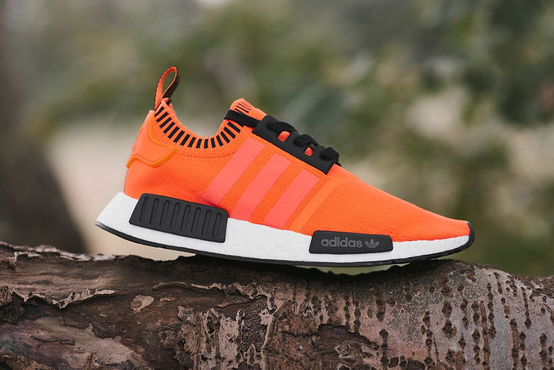 Size X Adidas Nmd R1 Orange Noise Invisble Pack Sneaker Freaker 1