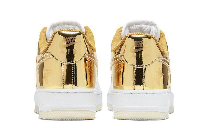 Nike Air Force 1 Low Shanghai Cu2991 197 Release Date Heel