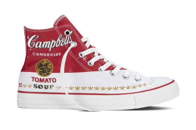 Converse Chuck Taylor All Star Andy Warhol  Campbells Red Detail