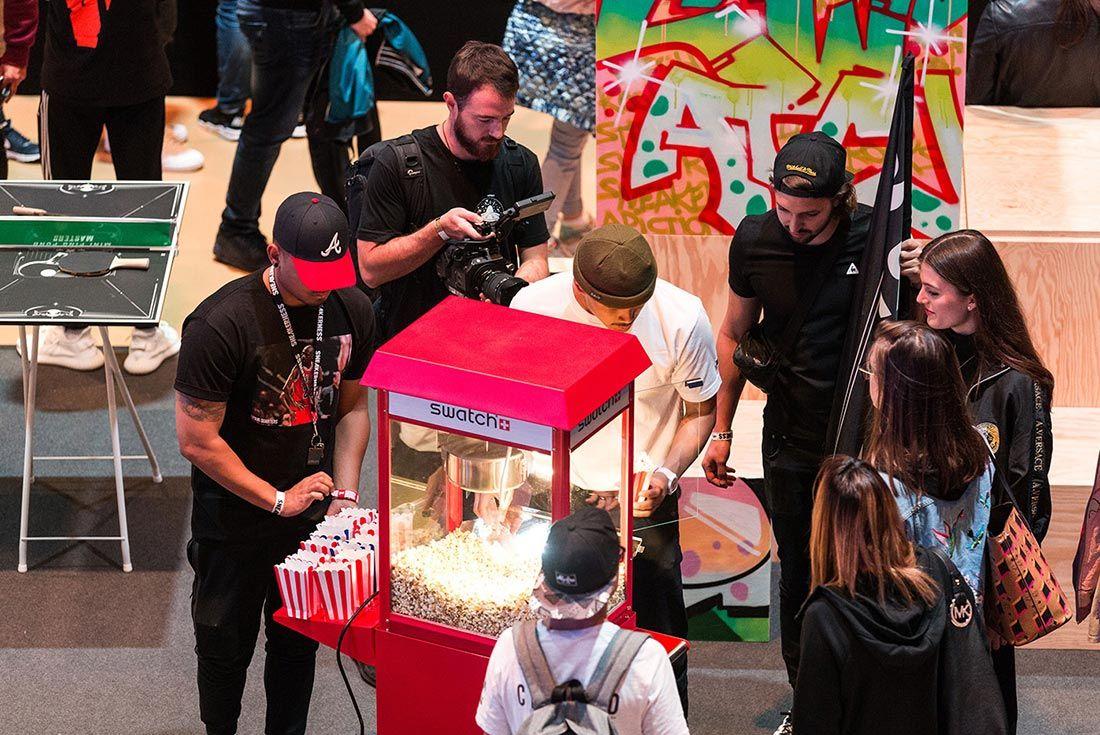 Sneakerness Even Recap Popcorn Stand