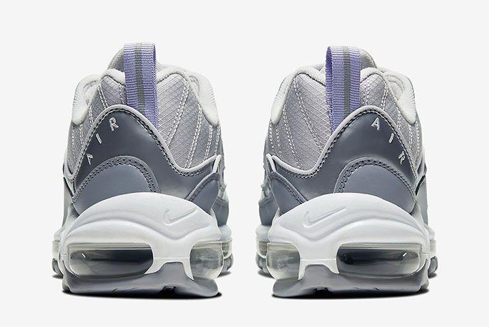 Air Max 98 Silver Bv6536 001 6 Heel
