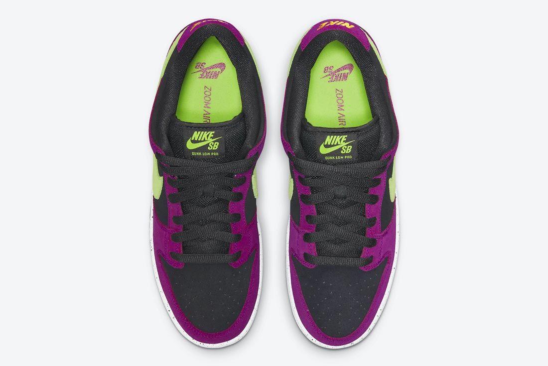 Nike SB Dunk Low 'Red Plum'