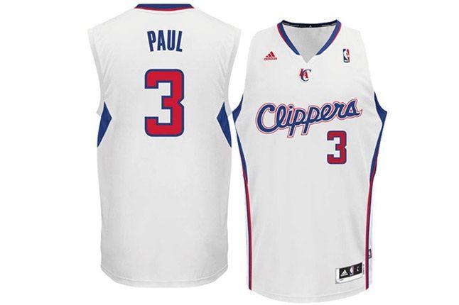 Chris Paul Los Angeles Clippers White Swingman Nba Adidas Jersey 1