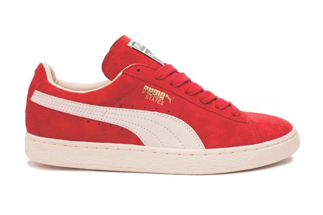 Puma States Red Sideview