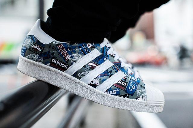 Adidas Originals Superstar 80S By Nigo 4